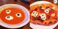 萬聖節限定 恐怖蕃茄美食