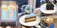 本地格調Cafe 粉藍系 伯爵茶蛋糕