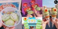 【東京】東京迪士尼超可愛甜品 Q彈 三眼仔麻糬