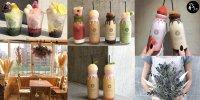 【九州】日本乾花Cafe 當造水果 牛奶樽飲品