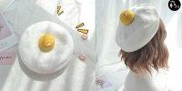 【韓國】韓國大熱潮流小品 太陽蛋畫家帽