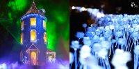 【日本】姆明公園 冬季限定活動 超夢幻雪景北極光投影