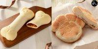 【日本】便利店推 骨頭麵包 / 貓咪手掌肉球麵包