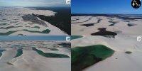 【巴西】沙丘湖泊相間美景 巴西馬拉赫塞斯國家公園