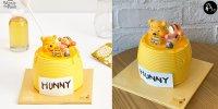 【韓國】Baskin Robbins迪士尼系列 小熊維尼雪糕蛋糕