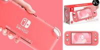 打入女性市場!任天堂推全新 珊瑚粉Switch Lite