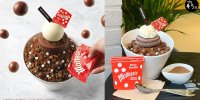 【韓國】連鎖Cafe期間限定 麥提莎巧克力刨冰
