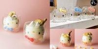 【日本】Good Glas可愛新品 Hello Kitty雙層玻璃杯